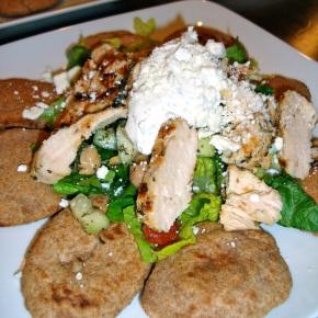 Greek Nachos with Lemon OreganoChicken