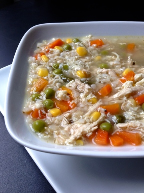 Chicken Fried RiceSoup