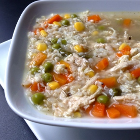 Chicken Fried Rice Soup
